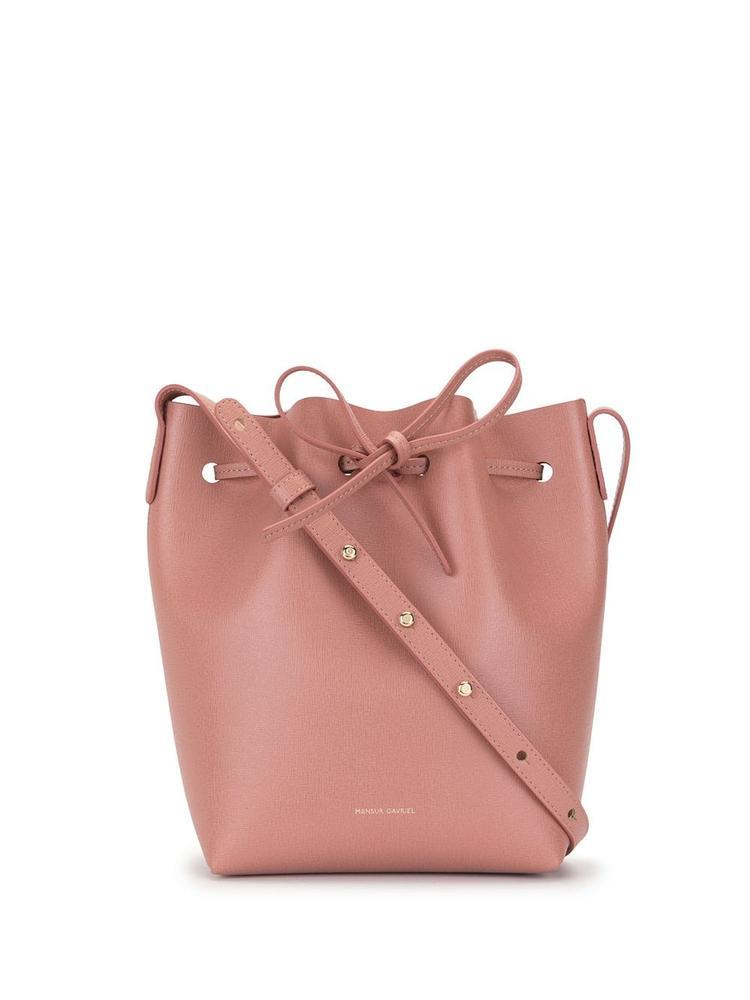 Mini Tie Bucket Bag