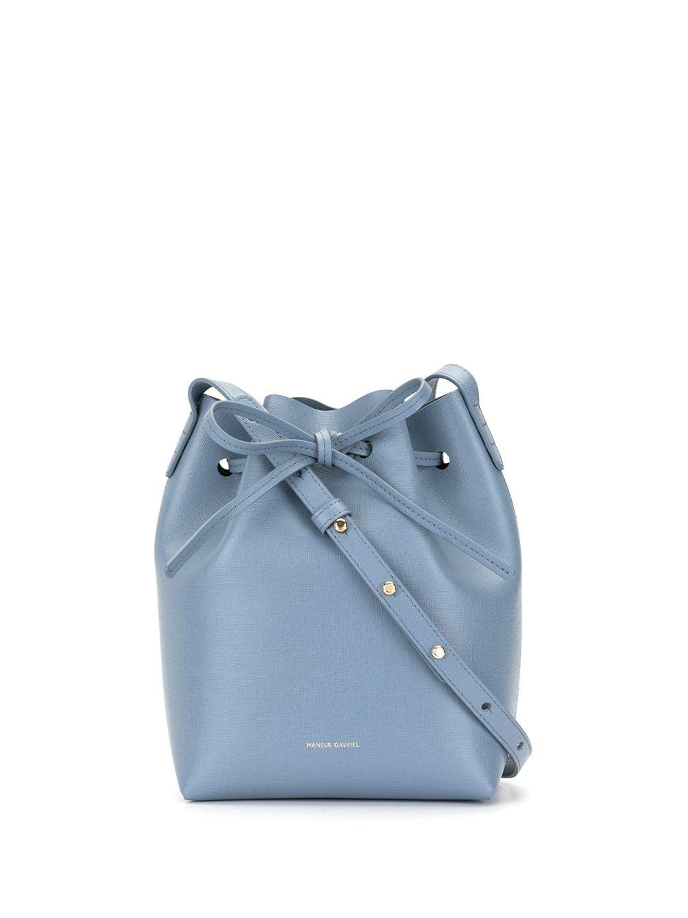 Mini Tie Bucket Bag