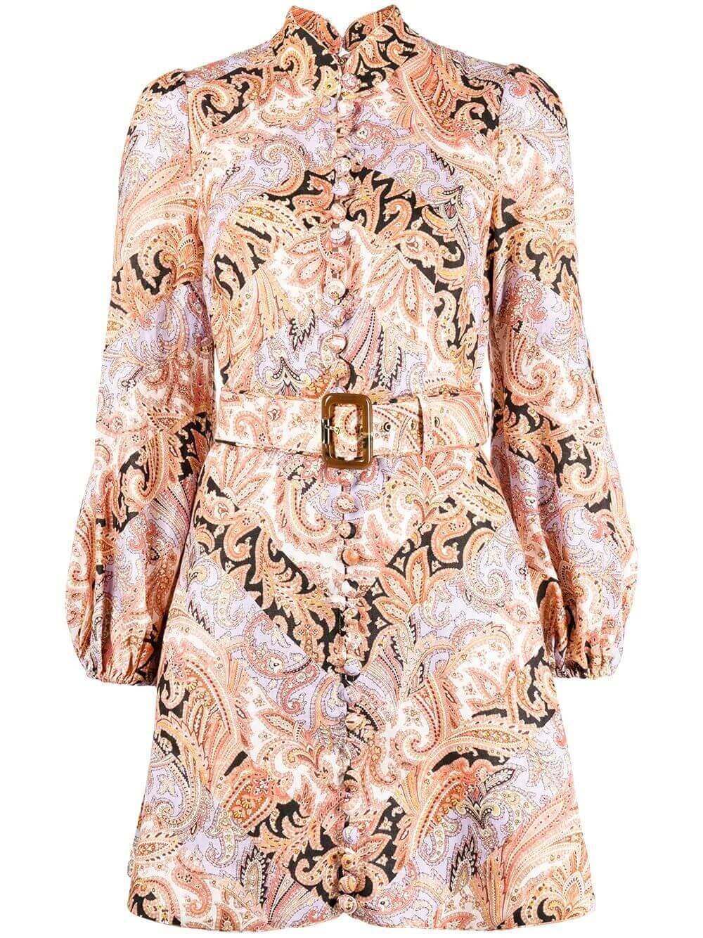 Botanica Paisley Mini Dress