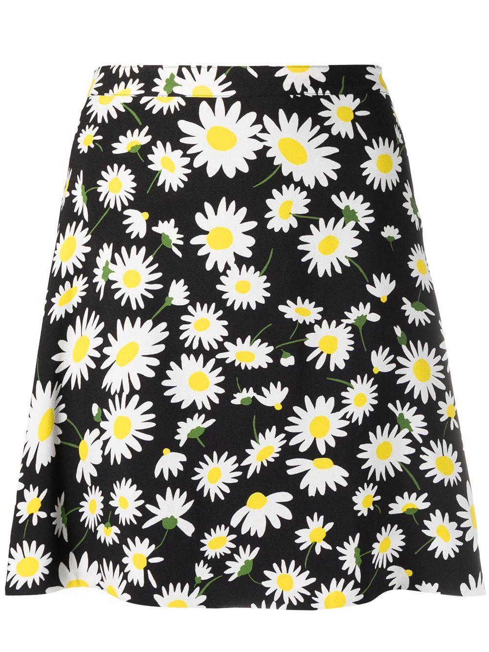 Daisy Print Skirt Item # 647997Y5C97