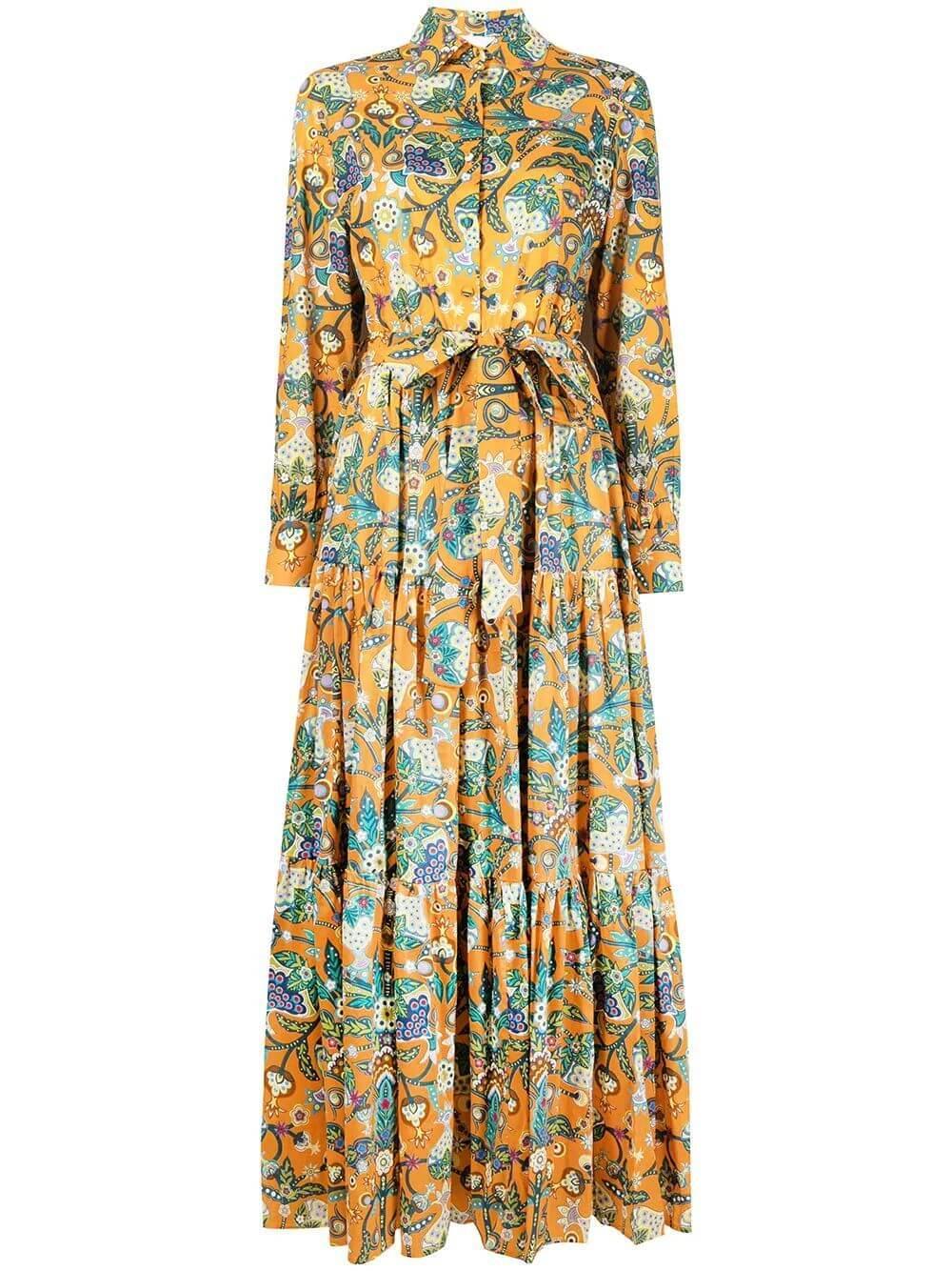 Bellini Tiered Maxi Dress