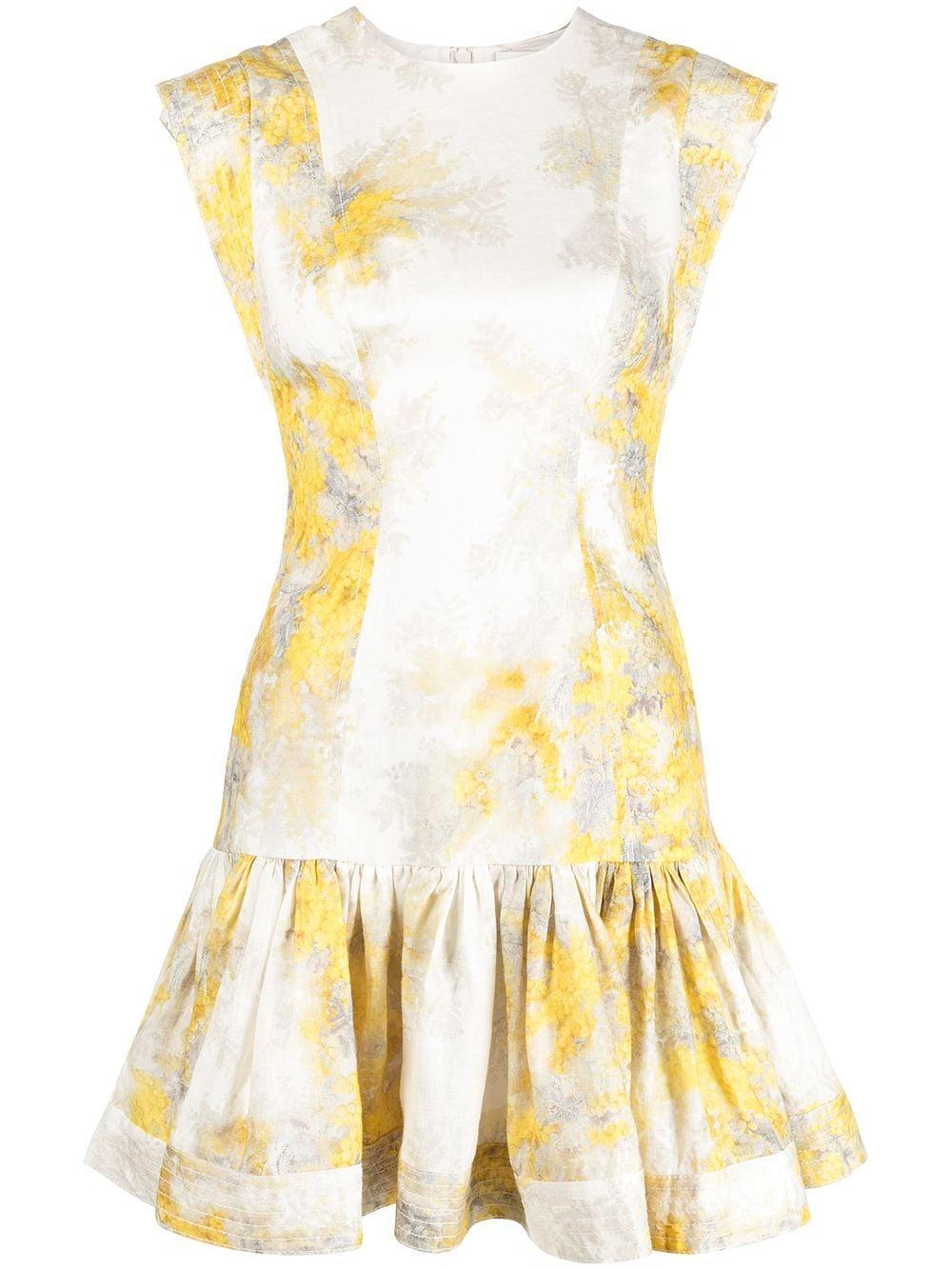 Botanica Flounce Dress