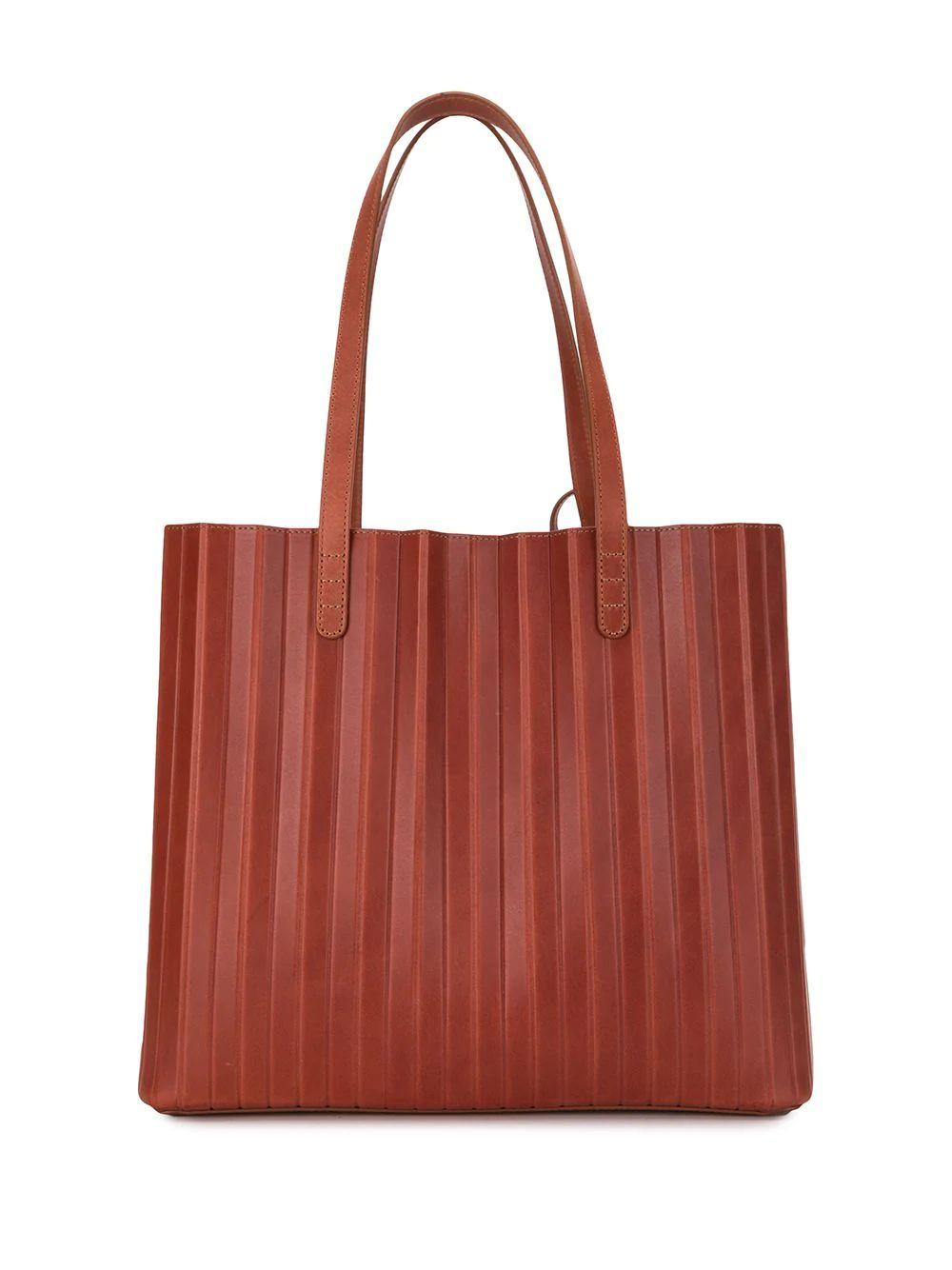Pleated Tote Item # WR20H003KD