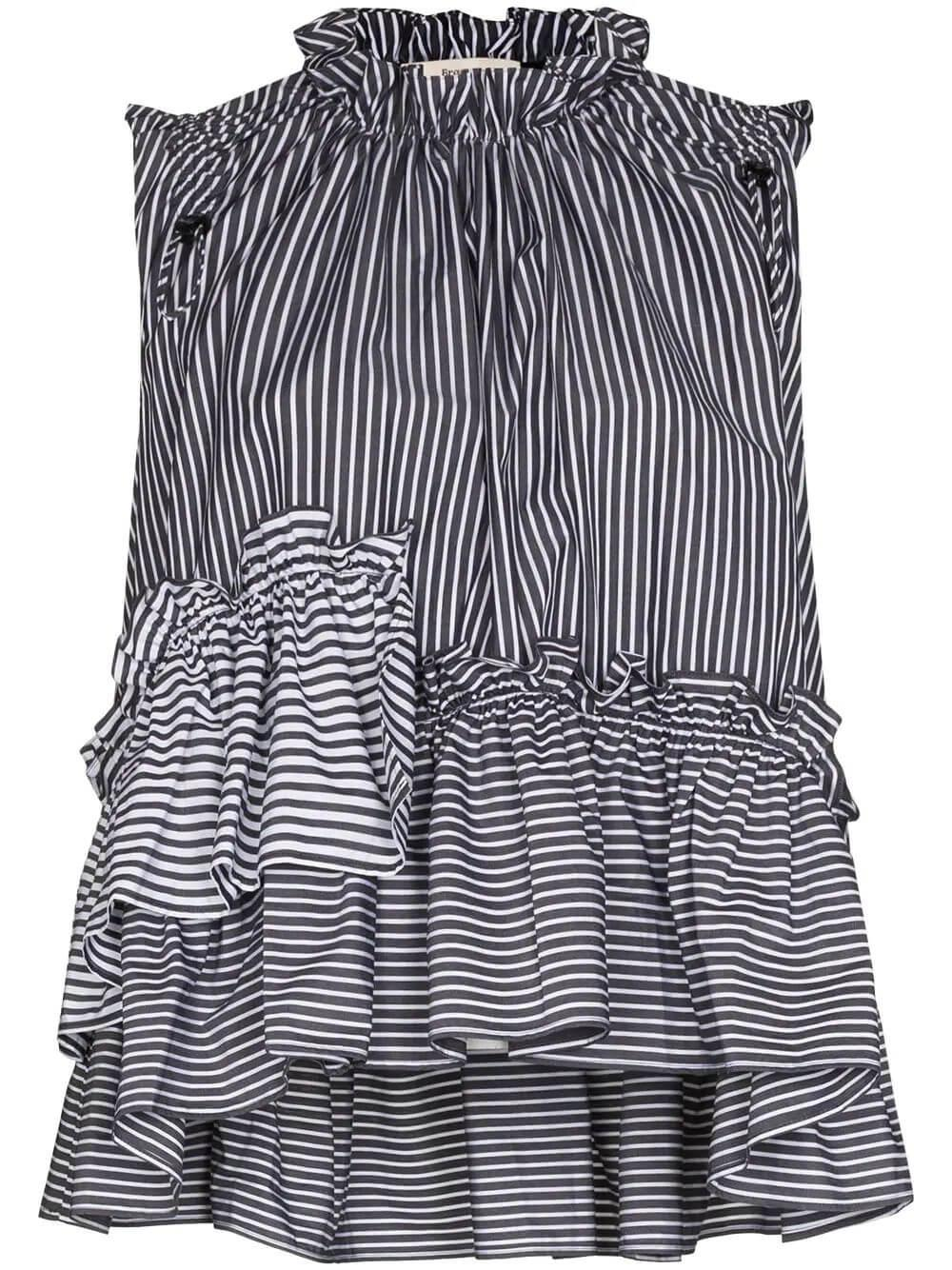Ensley Striped Top Item # SS21-009-A