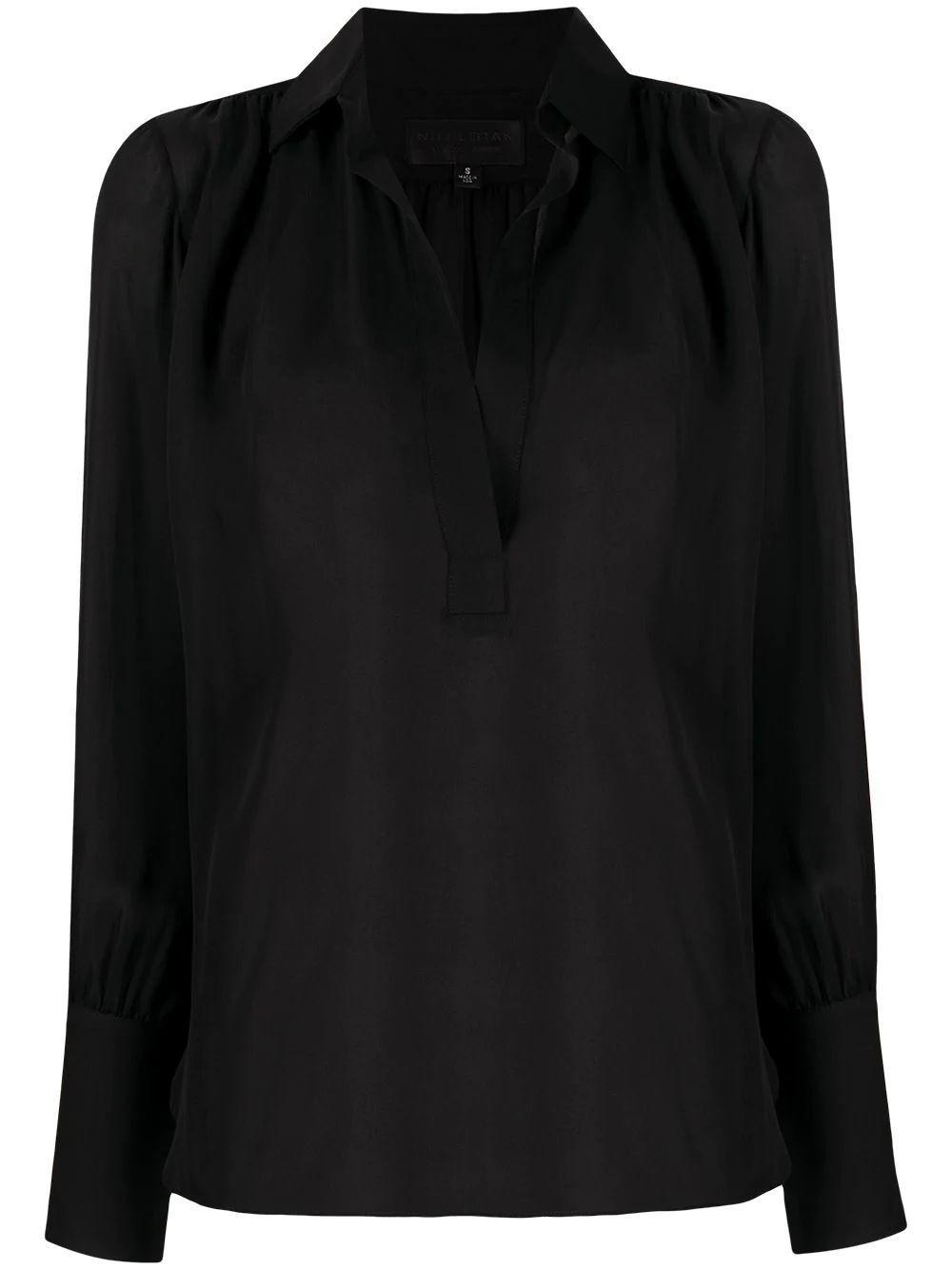 Colleen Silk Top Item # 11003-W30