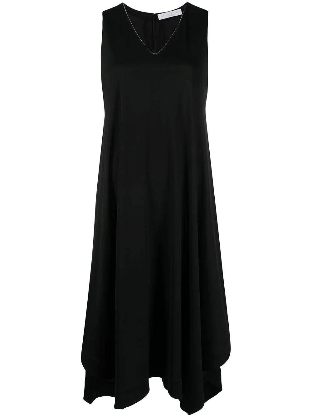 Asymmetrical Hem Day Dress