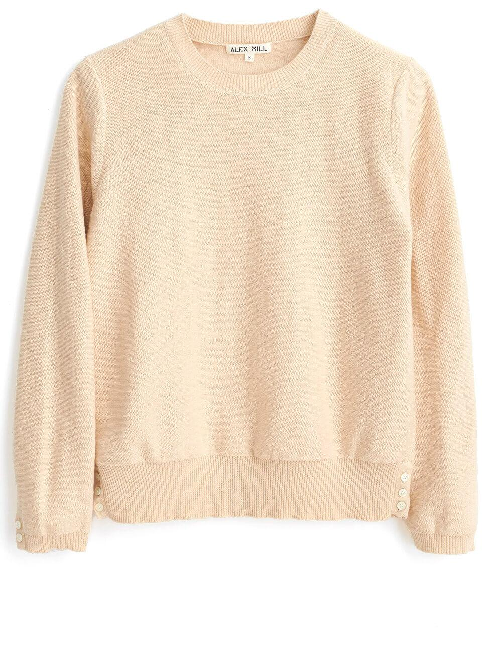 Isabelle Side Button Sweater