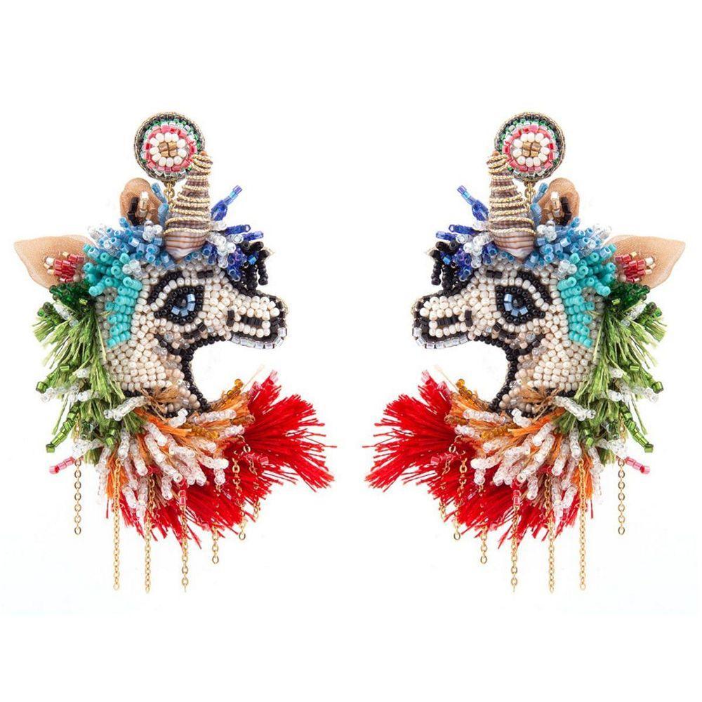 Unicorn Earrings Item # ERL4781MLT