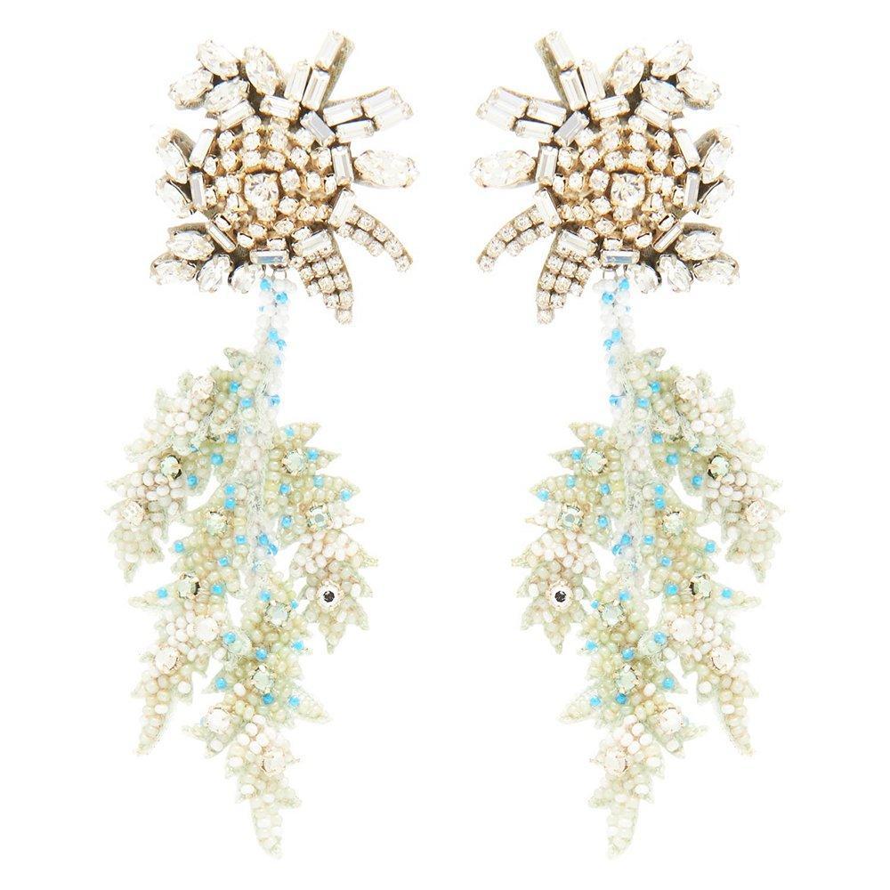 Lila Fern Earrings Item # E238-468