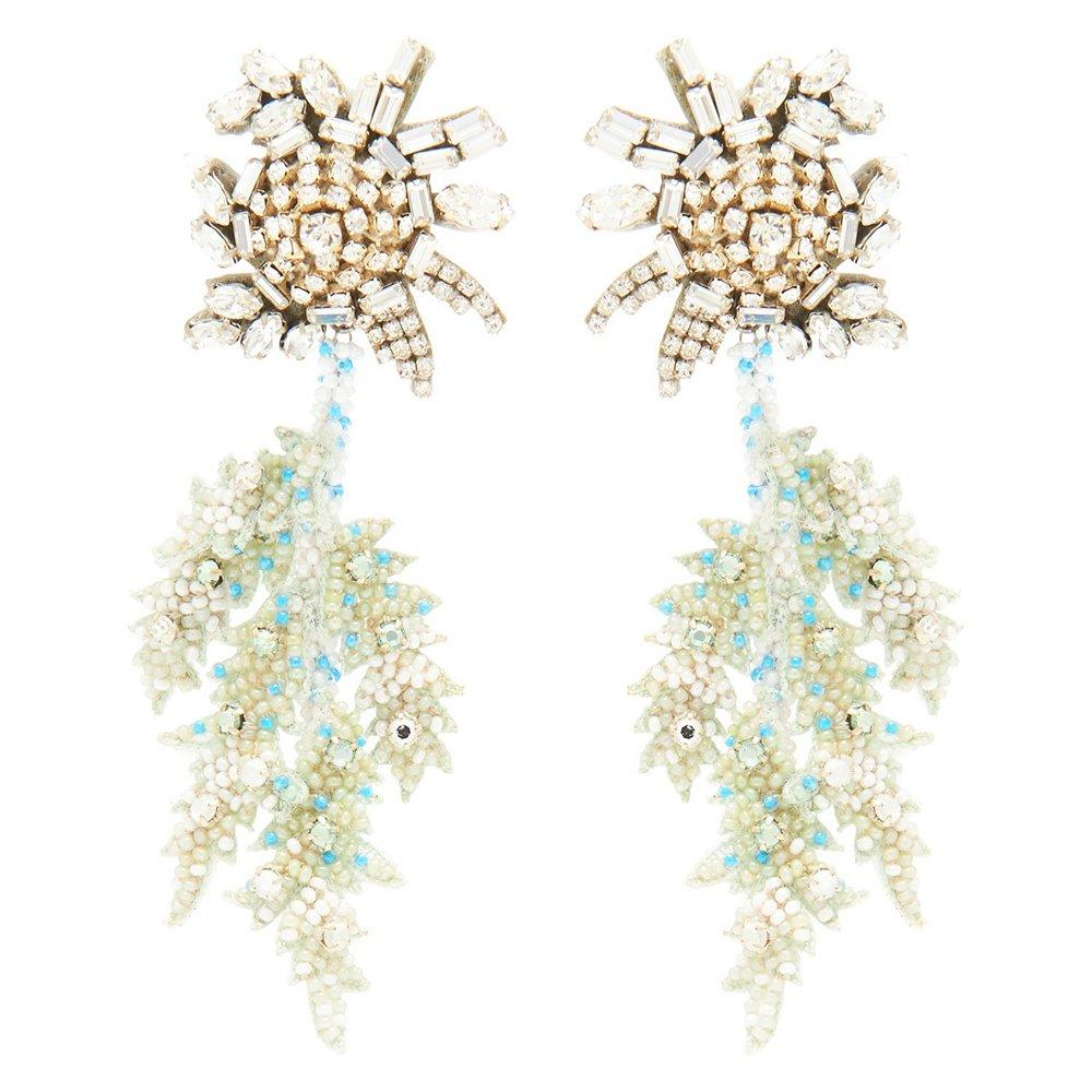 Lila Fern Earrings