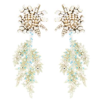 Lila Fern Earrings