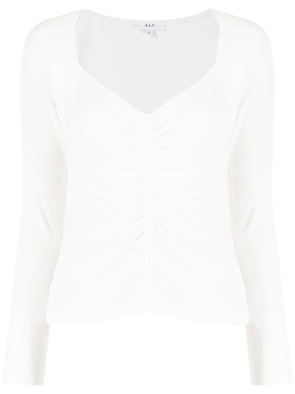 Halley Square Neck Long Sleeve Tee