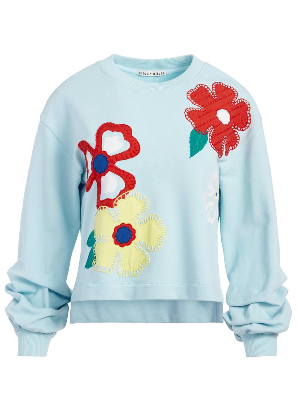 Gaia Embroidered Sweatshirt