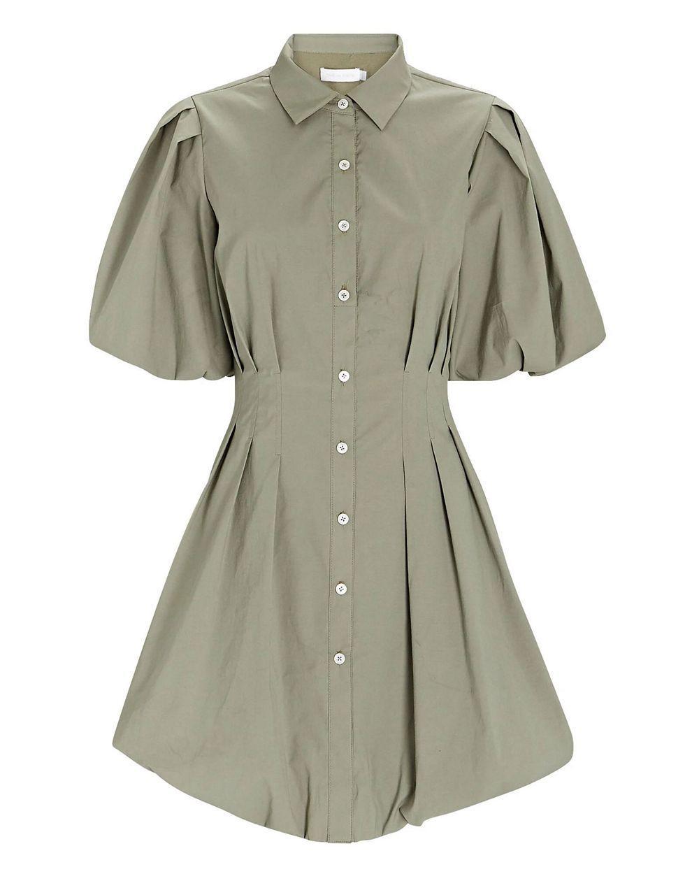 Cleo Poplin Mini Dress