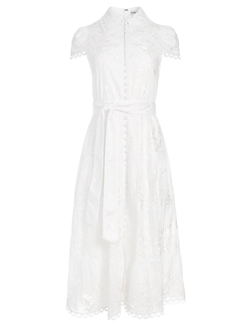 Vanessa Midi Dress Item # CC103D20530