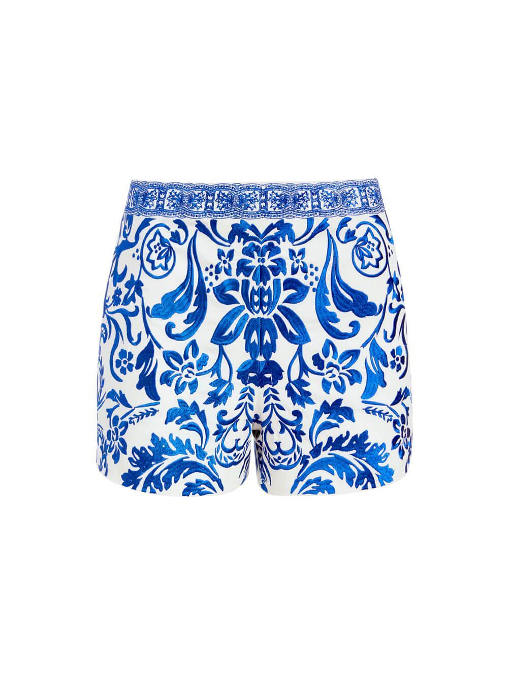 Sherri Embroidered Shorts