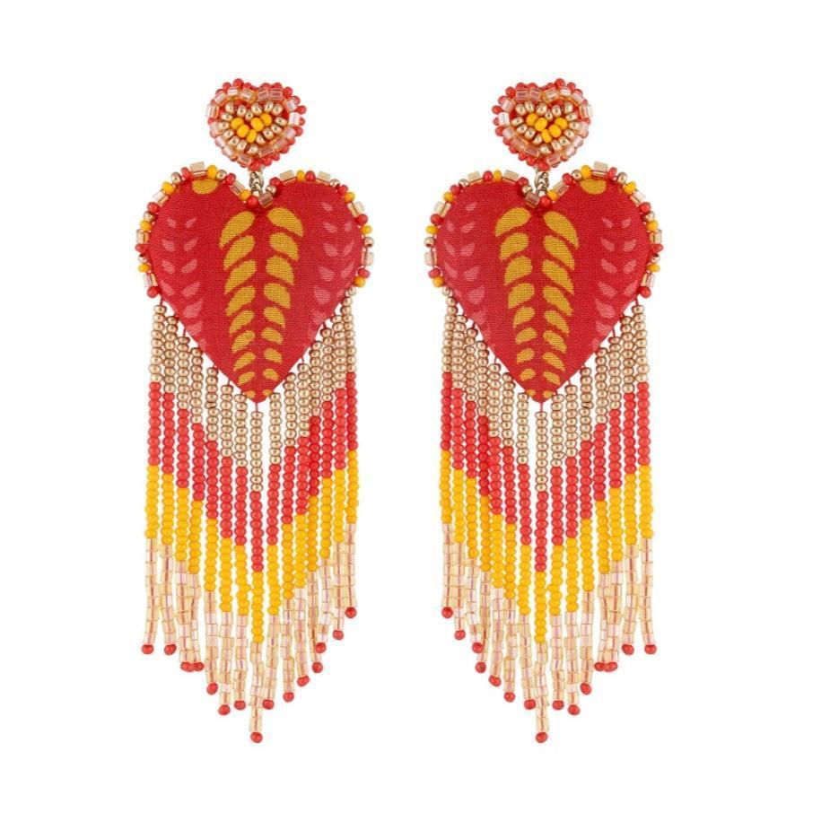 Passion Earrings Item # ER4599RED