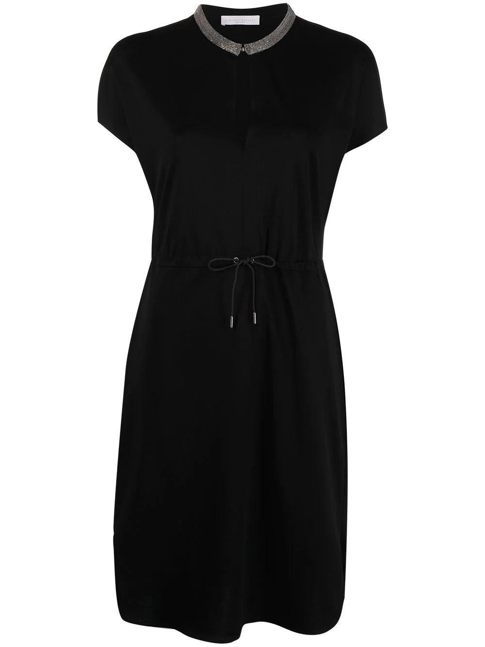 Jersey Drawstring Dress Item # ABD271W159