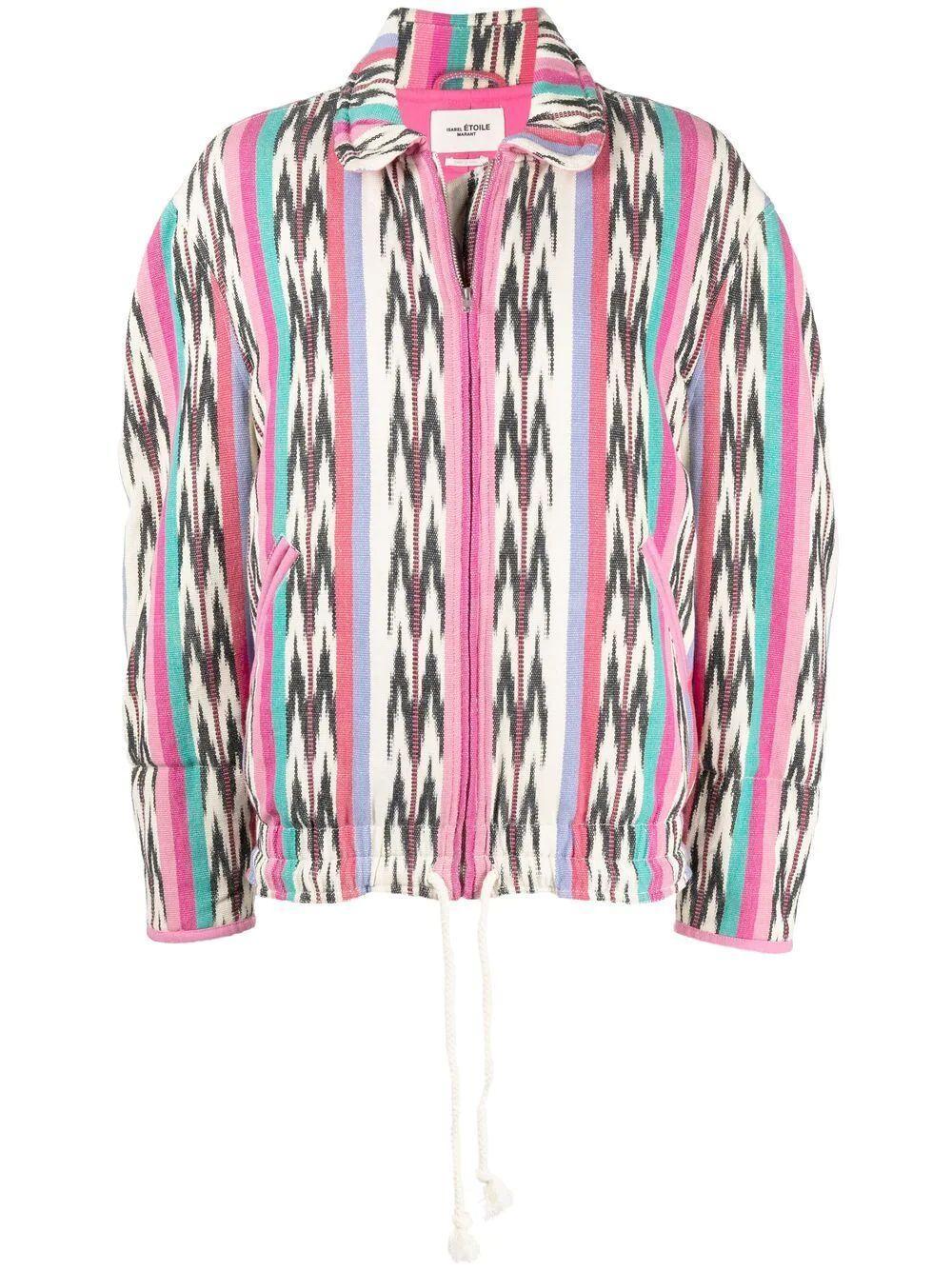 Laustey Jacquard Cotton Jacket