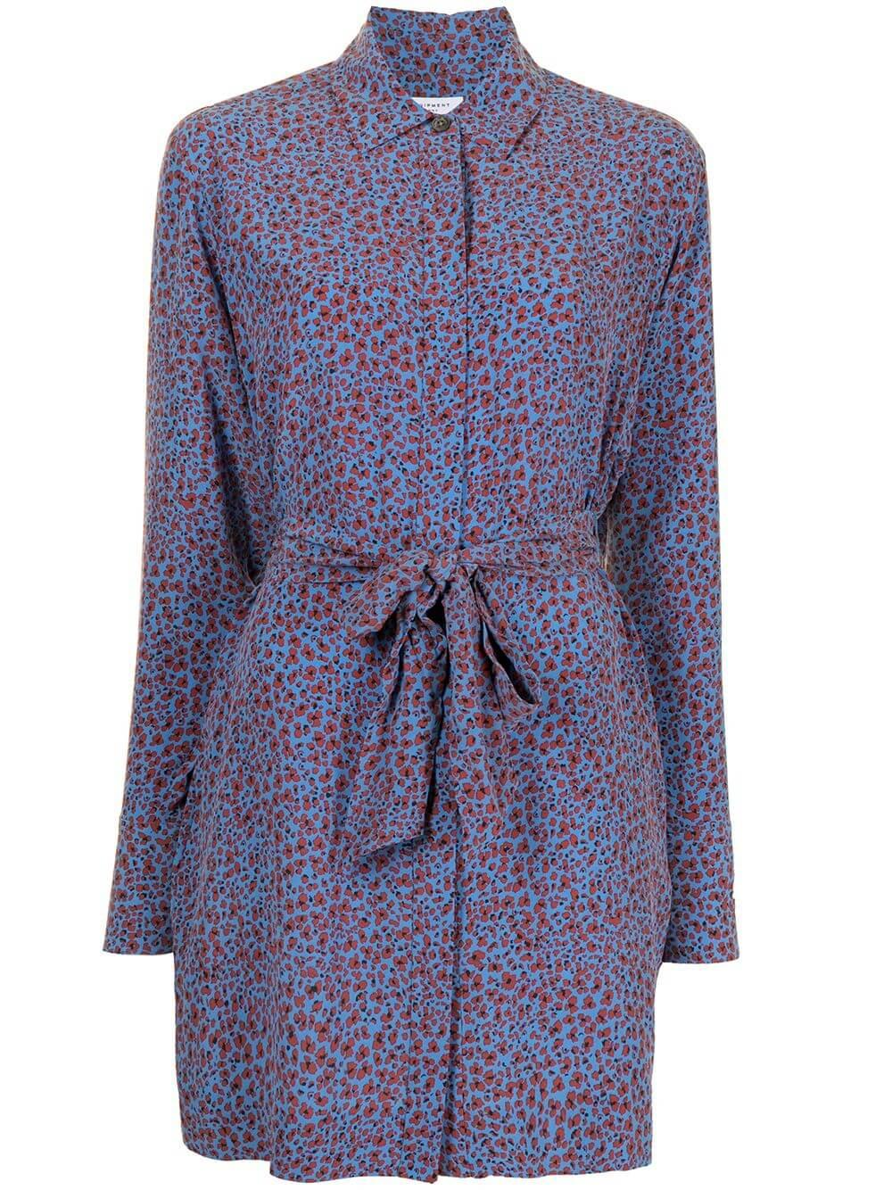 Sennet Floral Shirt Dress Item # 21-1-008335-DR02655