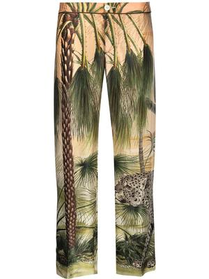 Ceo Jungle Print Pants