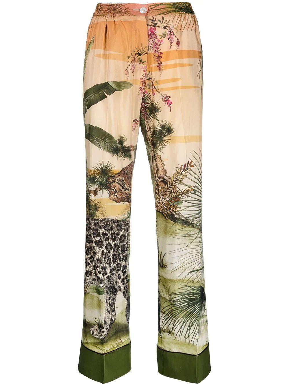 Alimede Jungle Print Pant