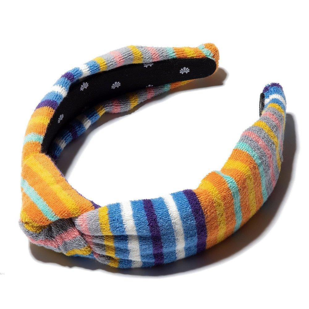 Terry Cloth Knotted Headband Item # LSHA318OM