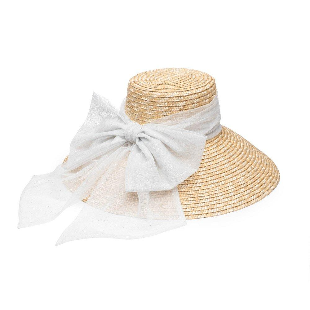 Mirabel Straw Wide Brim Sunhat