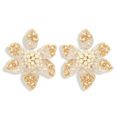Camellia Pearl Earrings