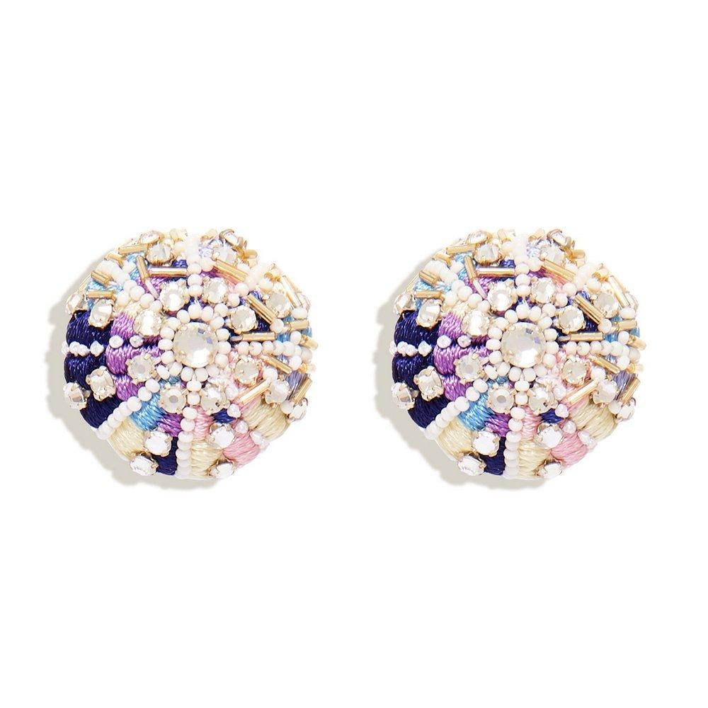 Sea Urchin Stud Earrings Item # E254-100B