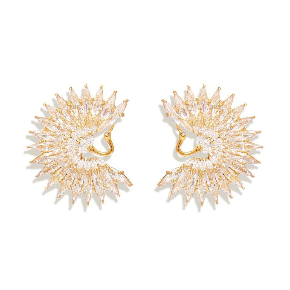 Egret Earrings