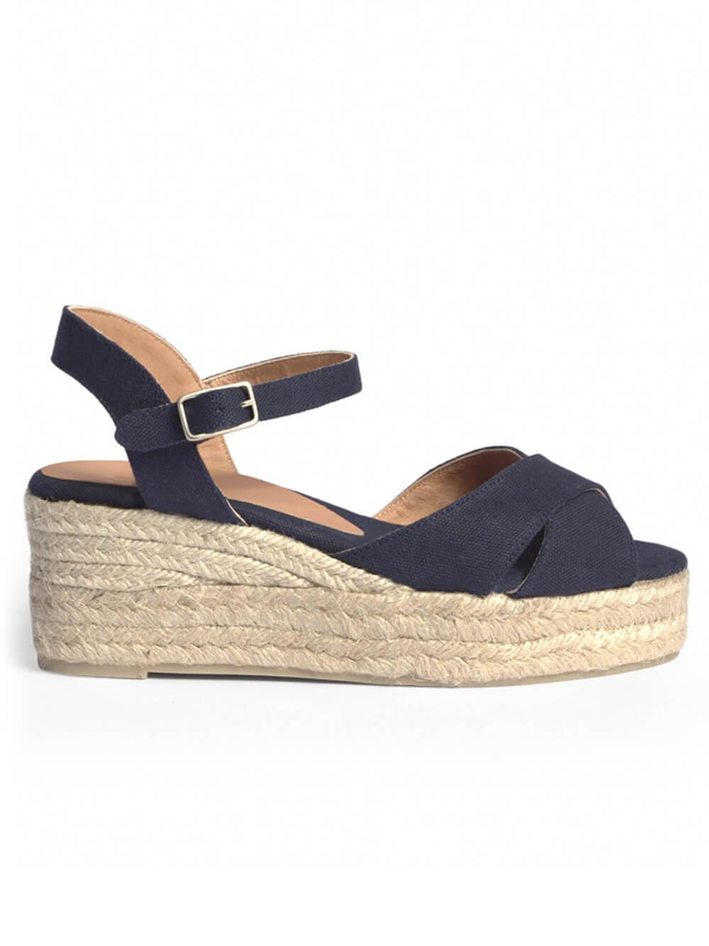 Blaudell Canvas Wedge