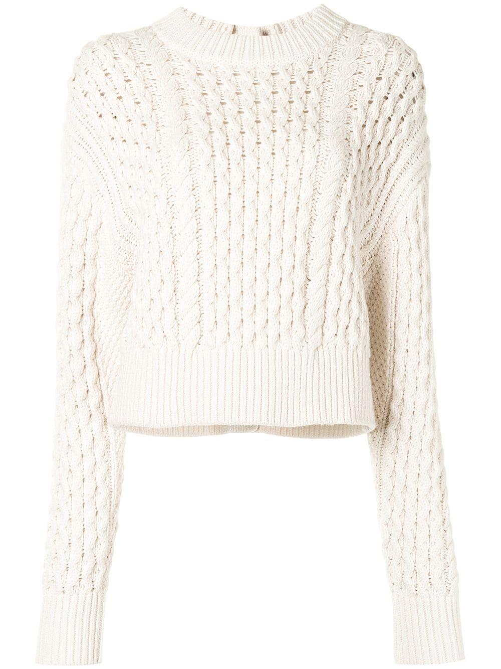 Cable Knit Sweater Item # WL2127611