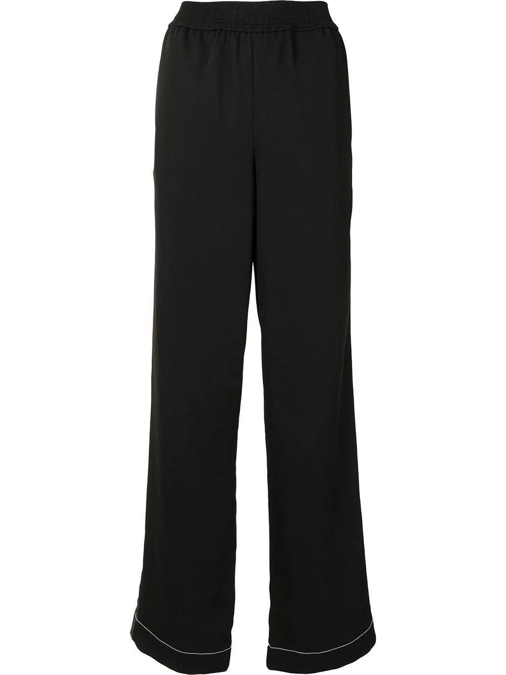Contrast Stitch Pajama Pant