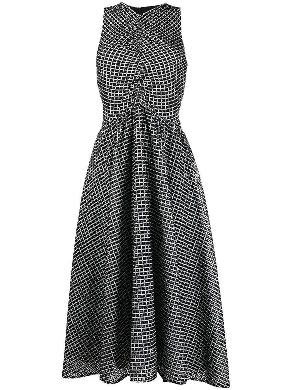 Broderie Anglaise Printed Dress