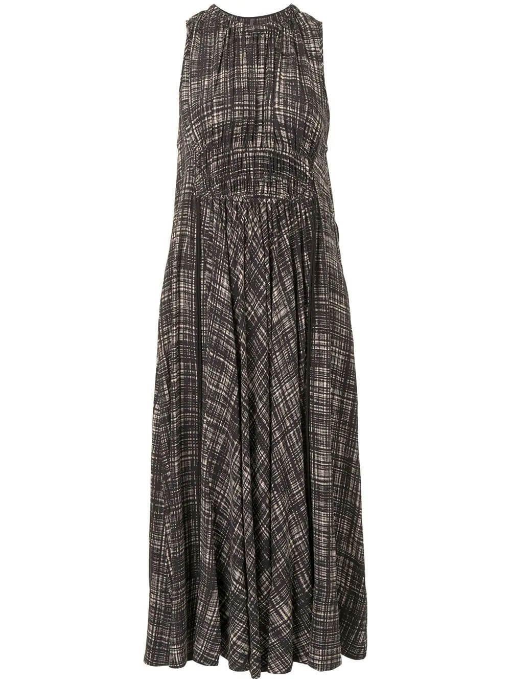 Printed Midi Dress Item # WL2123161