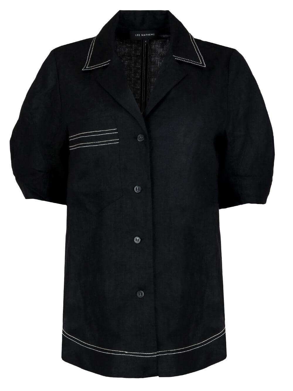 Sidney Cocoon Sleeve Shirt