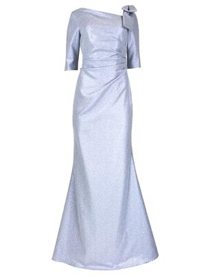 Bow Shoulder Detail Gown