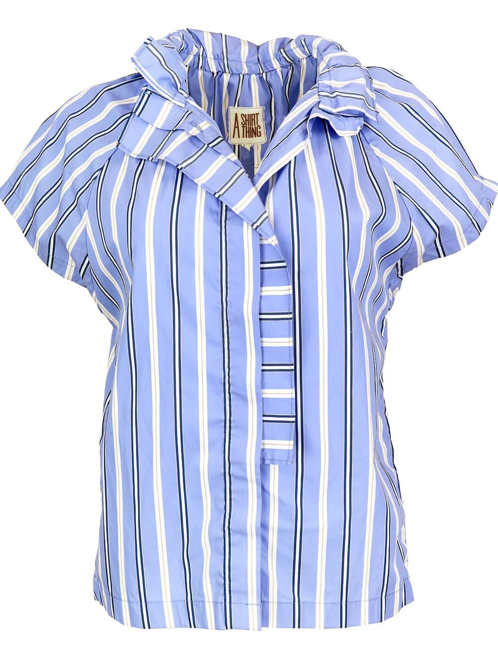 Stella Stripe Button Down Item # 21A-709-JS35428