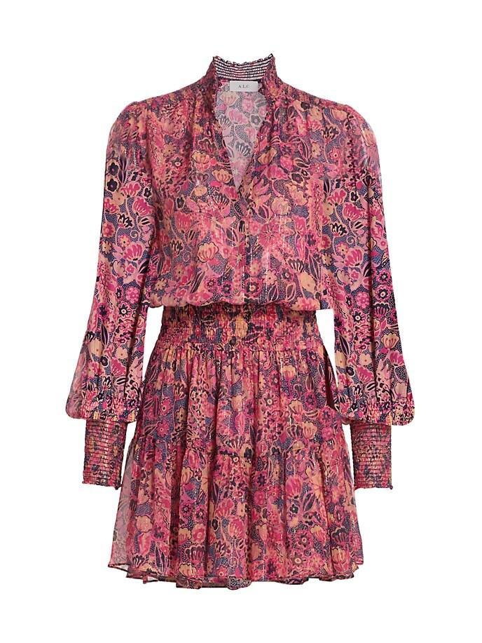 Silvie Printed Dress