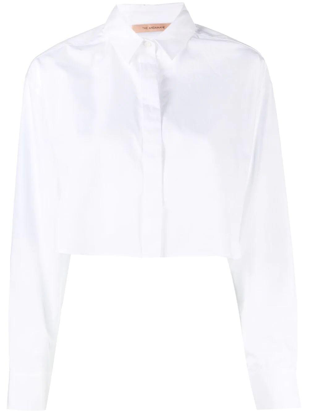 Georgina Cropped Shirt