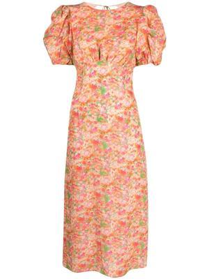 Gloria Printed Midi Dress