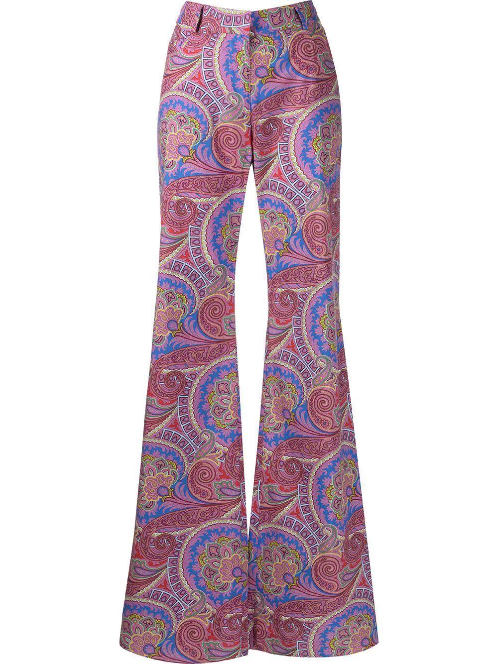Salima Paisley Wide Leg Pants