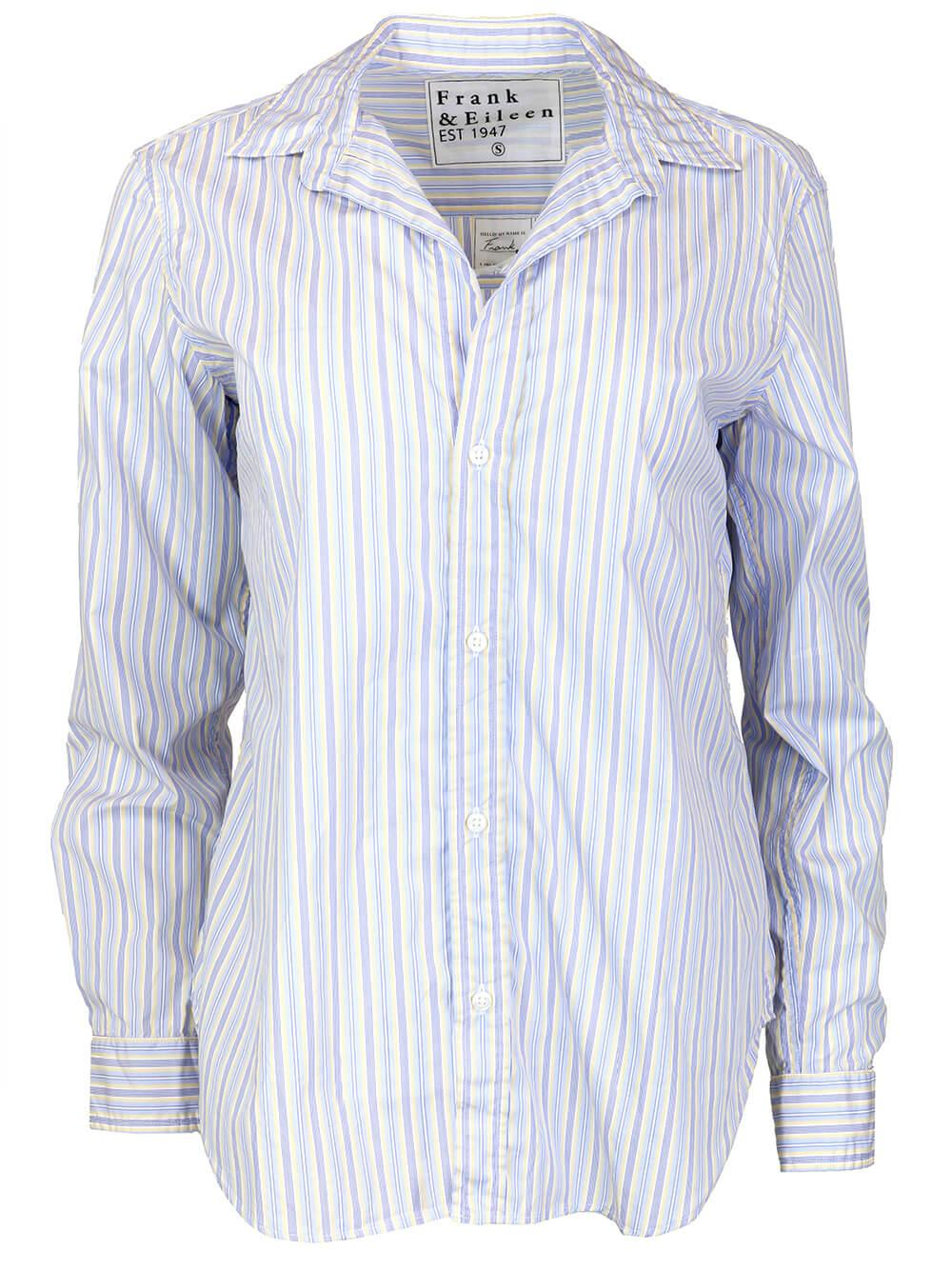 Frank Striped Button Up Item # FRANK-YBST
