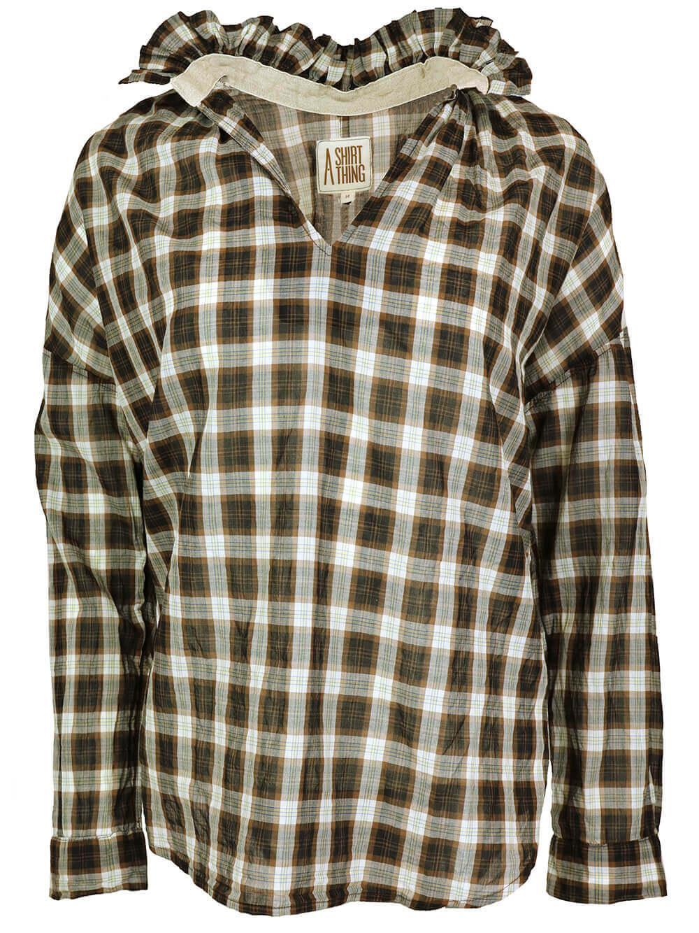Penelope Plaid Shirt