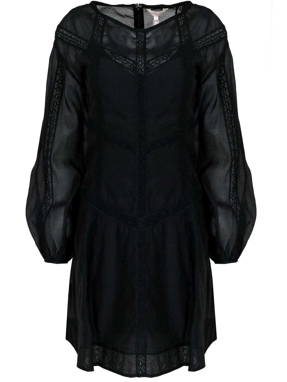 Cotton Organza Dress Item # 121127D745