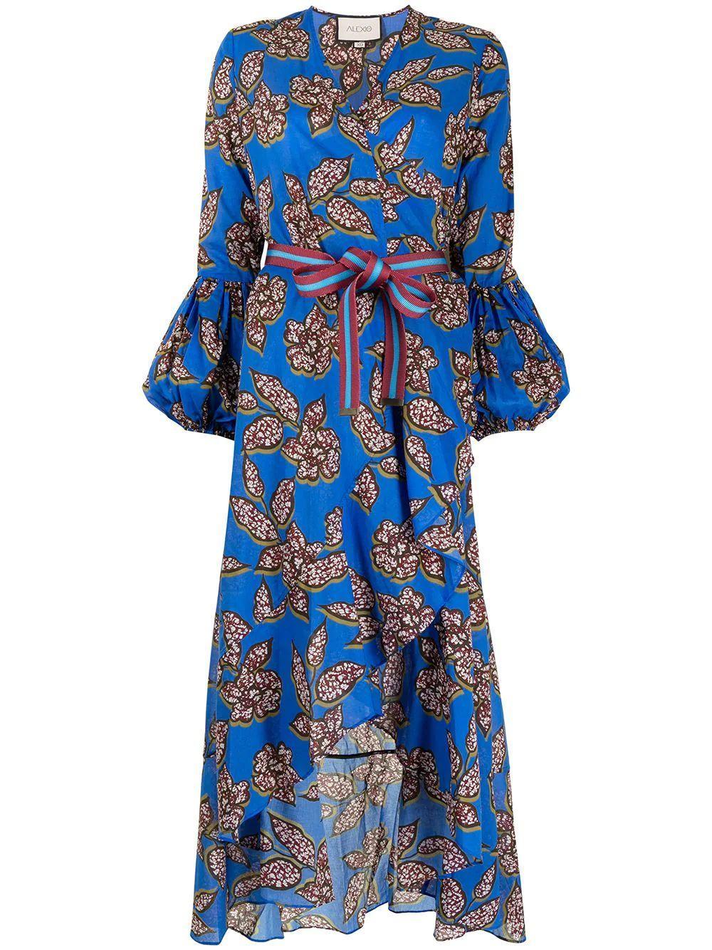 Livana Botanical-Print Dress