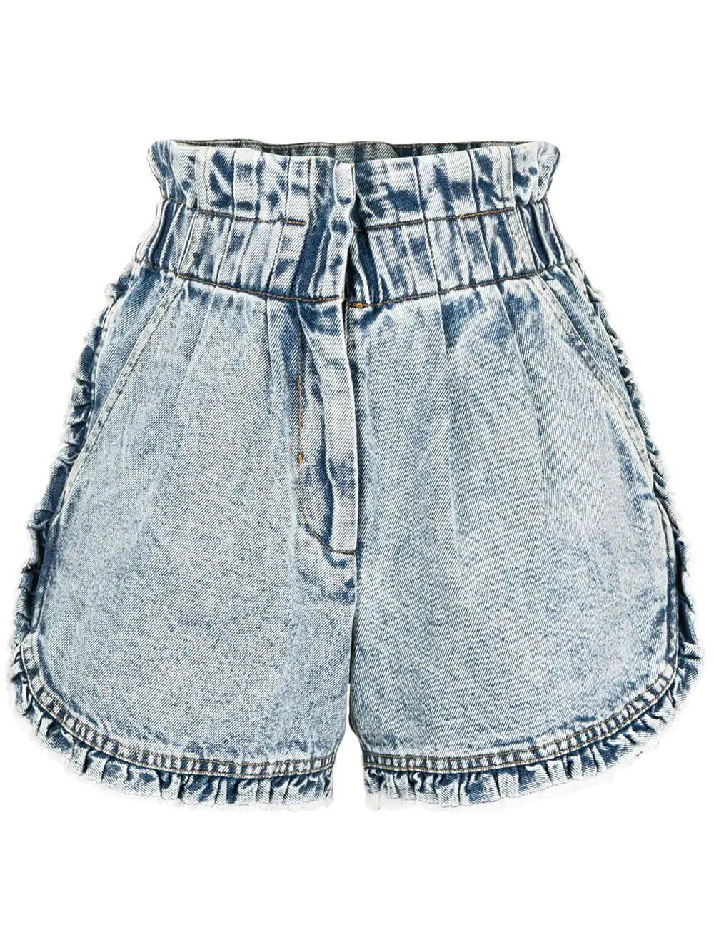 Dax Acid Wash Denim Shorts Item # SS21-16