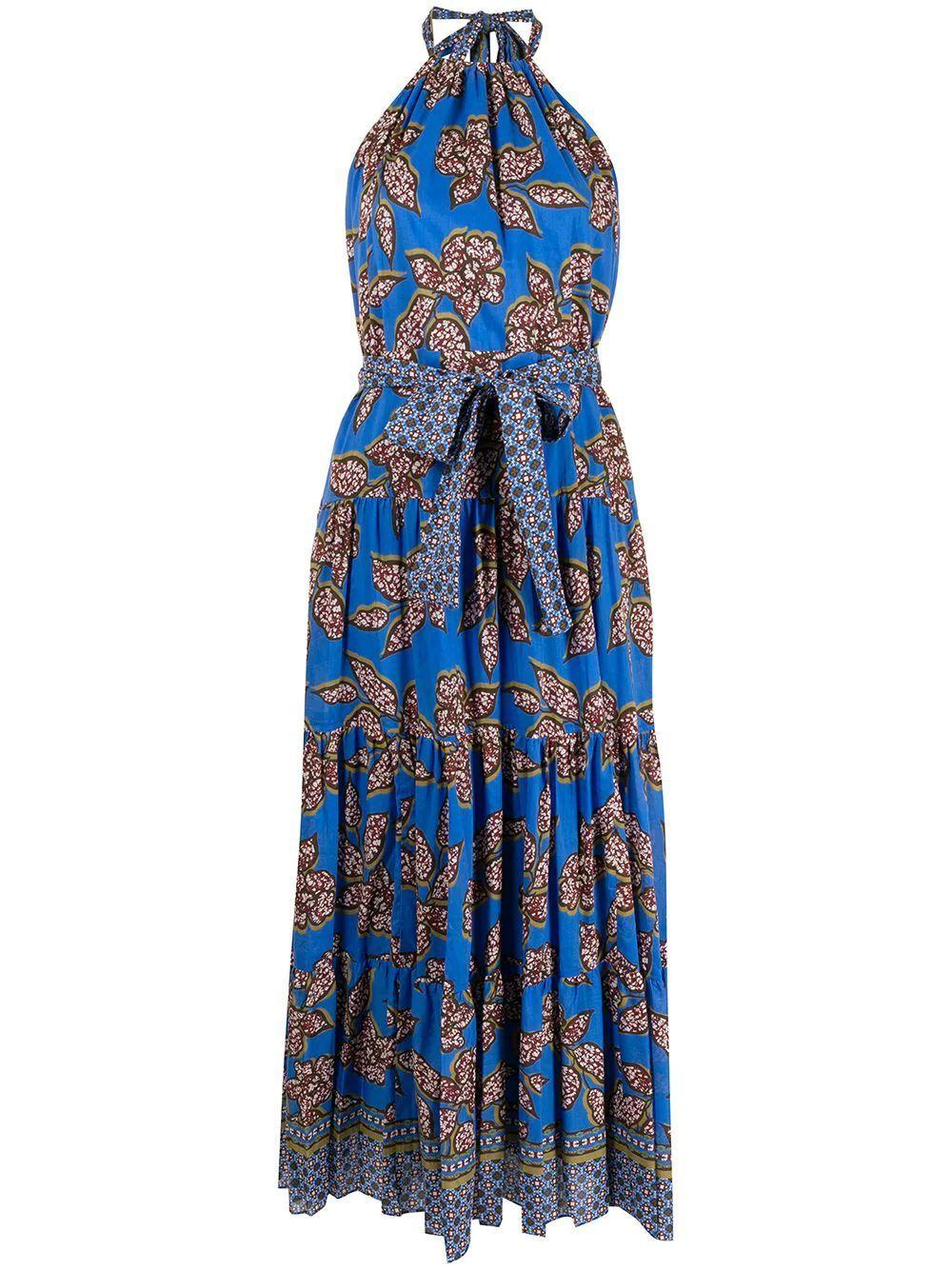 Joyette Printed Maxi Dress Item # A1210423-7048