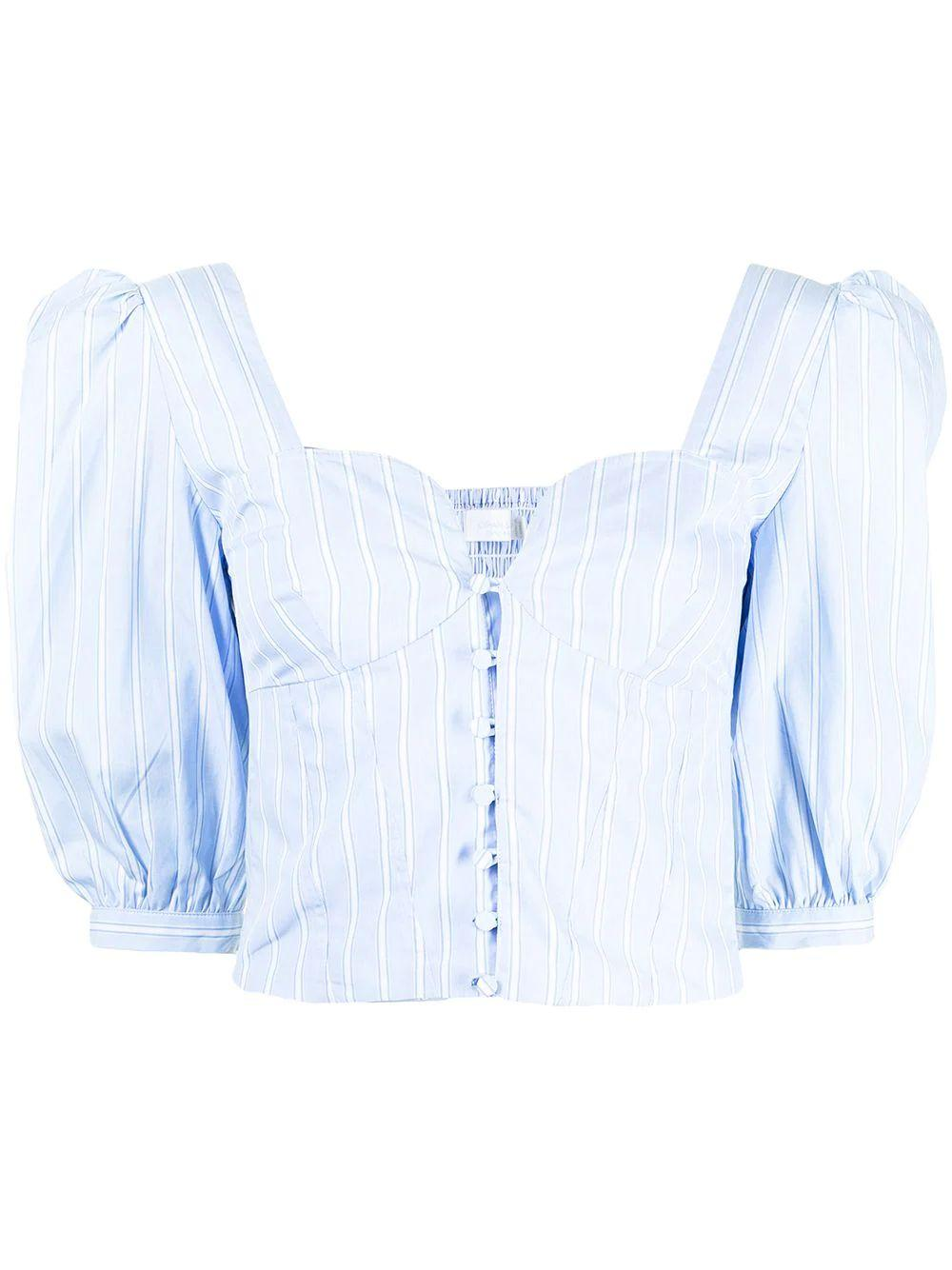 Thea Puff Sleeve Top Item # 221-2055-ST